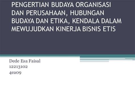 Buku Budaya Organisasi Dan Peningkatan Kinerja Perusahaan 3 pengertian budaya organisasi dan perusahaan hubungan budaya