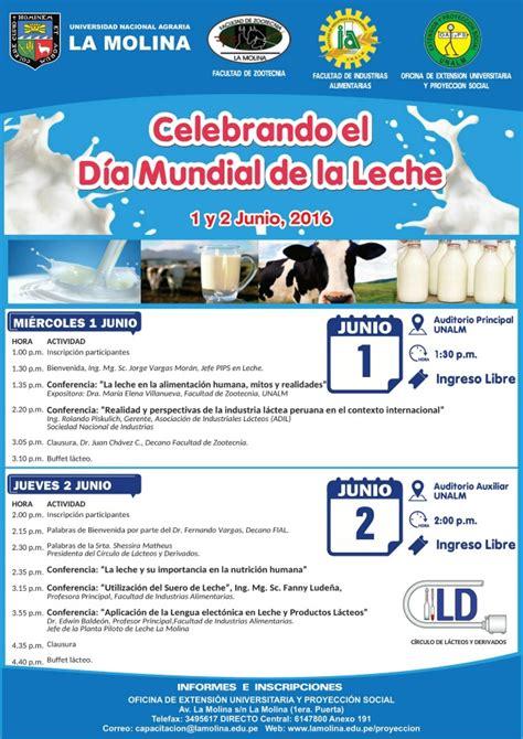 pago 1ro de mayo 2016 peru celebrando el d 237 a mundial de la leche ingreso libre