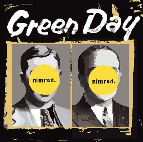 Green Day Nimrod Cd green day nimrod bekah paintmyalbum net 2 000 classic album covers redo flickr