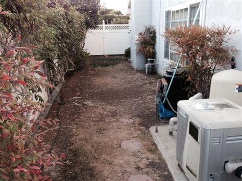 Garden Pathway Ideas help narrow side yard landscape ideas needed