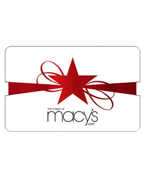 G Star Gift Card - macy s star ribbons gift card with greeting card gift cards macy s