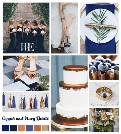 wedding color theme navy and bronze wedding mood boards wedding colors navy wedding colors