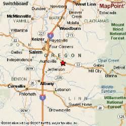 map of stayton oregon stayton oregon