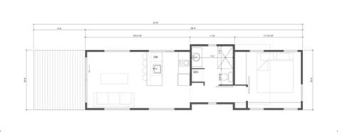 Park Model Mobile Home Floor Plans by The Wedge 400 Sq Ft Cabin By Wheelhaus