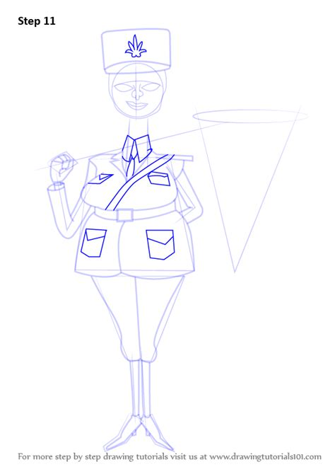 how to draw a police boat step by step how to draw police officer from madagascar