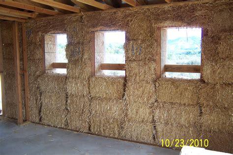 straw bale garden wall construction photos