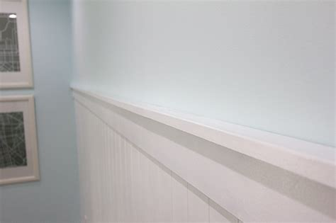 beadboard wall shelf ledge  house pinterest