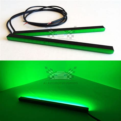 2x New Green Mini Led Drl Bar 6 5 Quot 24 Smd5630 Waterproof Small Led Light Strips
