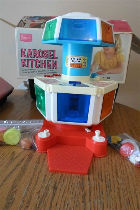 Vintage 70's Sears Karosel Kitchen Original box Barbie