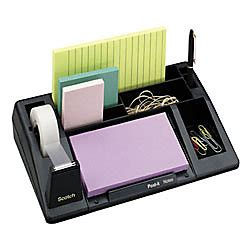 Office Depot Desk Organizer Scotch C61 And Desk Organizer Black By Office Depot Officemax