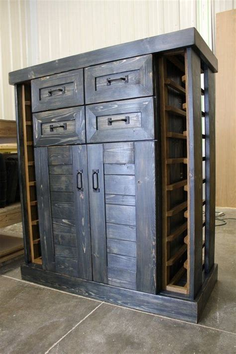 handmade quot wish quot wine cabinet by cole productions