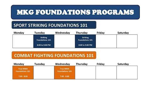 mkg seattle class schedule martial arts 2013 206