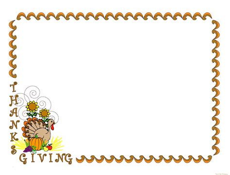 free thanksgiving clipart thanksgiving clipart page border pencil and in color