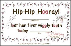 or boy tooth fairy certificate