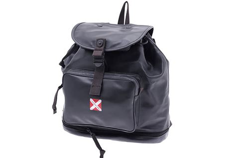Luggage Label Yoshida Sling Bag inside the bag the history of yoshida co