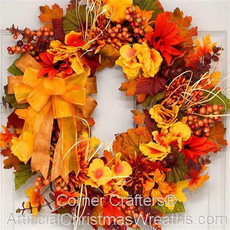 fall wreaths fall mums wreath artificialchristmaswreaths fall