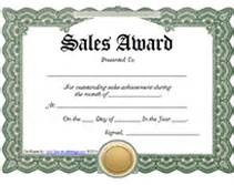 Free Sale Certificate Template by Free Printable Achievement Award Certificates Car