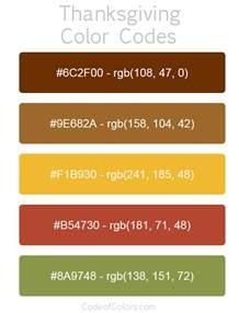 thanksgiving color palette thanksgiving color palette hex and rgb color codes