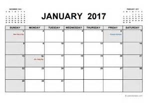 free printable calendar template 2017 printable calendar pdf free printable templates