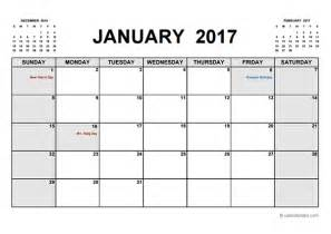 printable calendar templates 2017 printable calendar pdf free printable templates