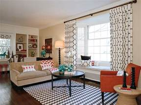 Modern Bedroom Curtains modern window curtains living room eclectic with black