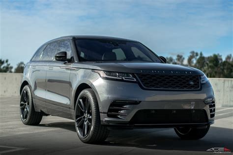 wheels land rover 2018 land rover range rover velar w scorpio 22 quot gloss black ace