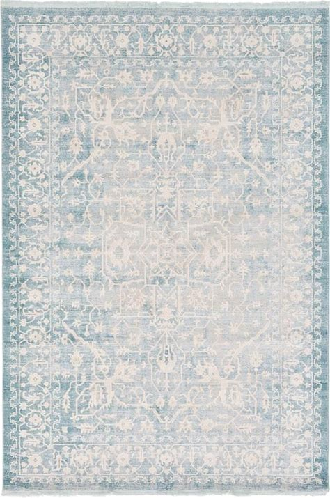 Light Blue Area Rugs by Light Blue New Vintage Area Rug Around The Home