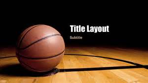 basket templates basketball presentation widescreen office templates