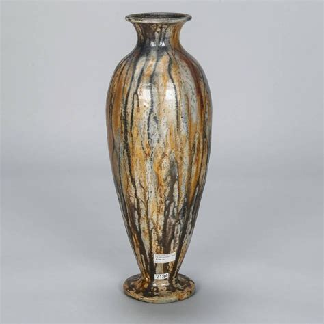 Narrow Vases by Narrow Signed Roger Guerin Vase For Sale At 1stdibs