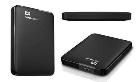 Hardisk Wd Disk Wd Elements Usb 3 0 Disponibile In 2 Capacit 224 Da