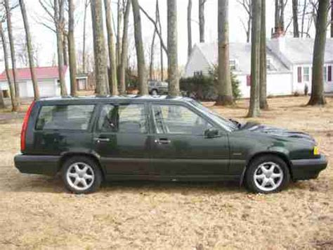 volvo 850 glt wagon sell used 1995 volvo 850 glt wagon no reserve in