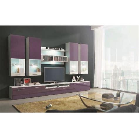 tete de lit en bois blanc 1190 deco in ensemble meuble tv bas violet design avec