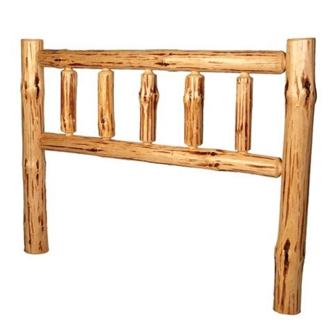 log headboard kits rustic log bedroom furniture