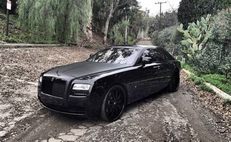 matte rolls royce ghost is kim kardashian selling her matte black rolls royce