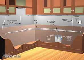 under cabinet lighting options kitchen how to install under cabinet lighting in your kitchen