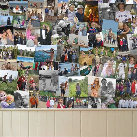 creative ways to make picture collages turn family photos into wallpaper crux baby