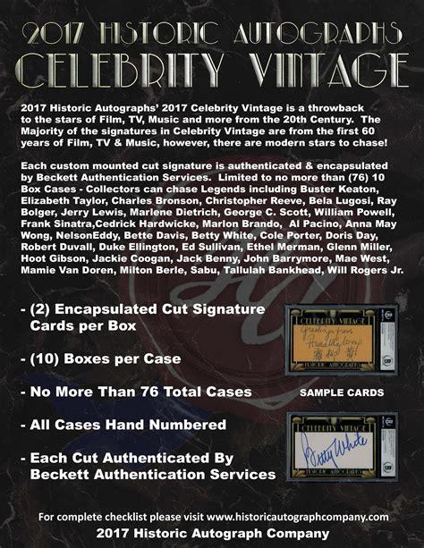 historic autographs celebrity vintage 2018 historic autographs celebrity vintage hollywood