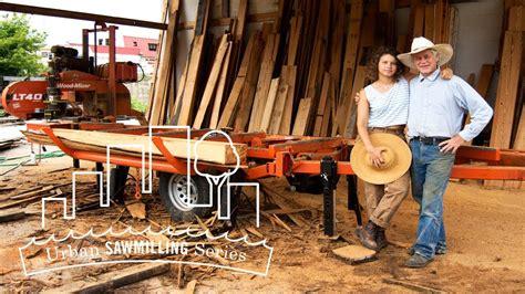urban sawmilling series episode ii manayunk timber youtube