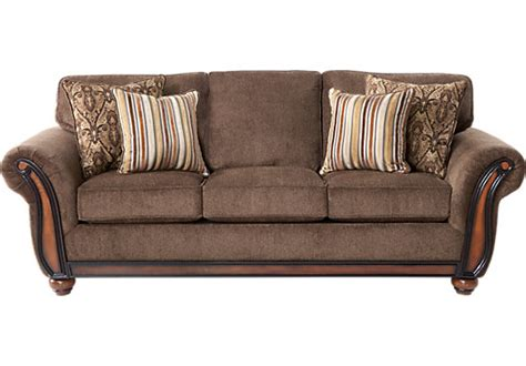 couch to go ansel park brown sofa sofas brown