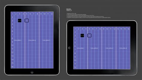 layout grid for ipad san design graphic design 2 part 1 task 1 what is the