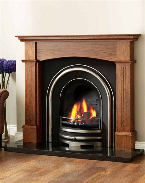Wood Fireplace Surrounds For The Home Pinterest Wood Fireplace Surround