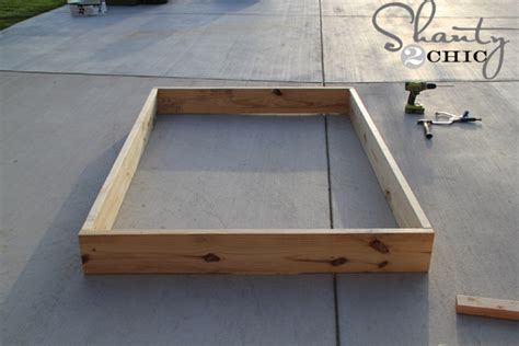 double bed low to ground