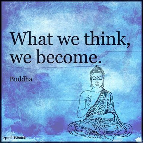 what we become what we think we become