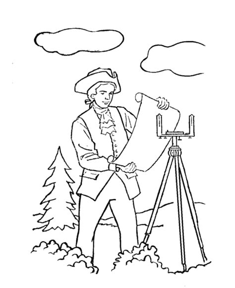 George Washington Coloring Pages Az Coloring Pages Coloring Pages George Washington