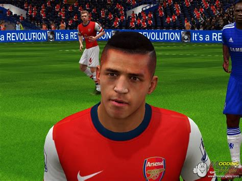 alexis sanchez haircut alexis sanchez new hairstyle fifa 14