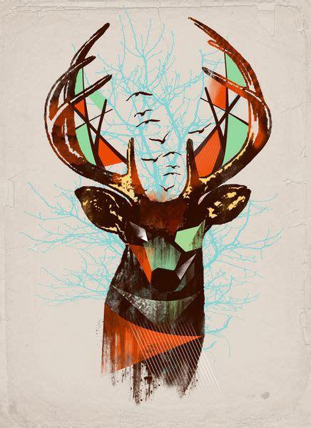 geometric elk tattoo 161 best dear deers images on pinterest deer animales