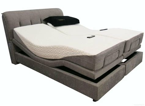 bedroom mattress adjustable platform bed with gray upholstered headboard surprising