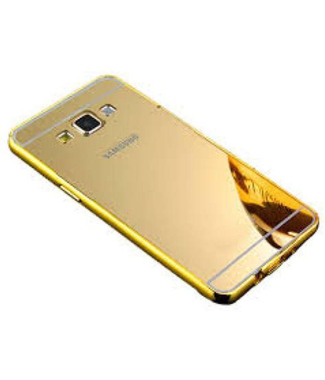 Flip Mirror Cover Samsung Galaxy J5 Prime samsung galaxy j5 prime cover by alive golden plain