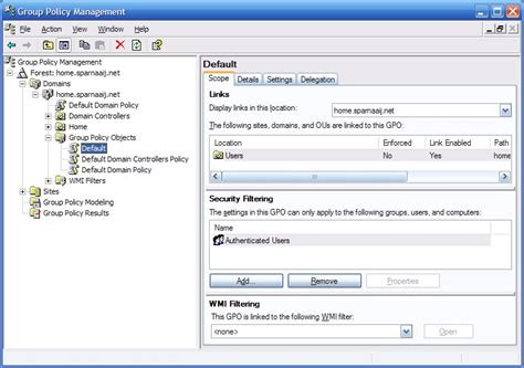 policy management console setting outlook policies howto outlook
