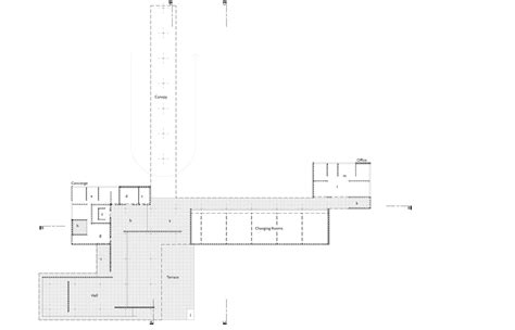 Mies Van Der Rohe Floor Plan by Gallery Of Mies Van Der Rohe Golfclubhaus 1 1 Model